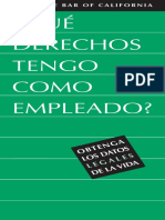 Employee Rights Spanish