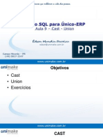 Curso SQL - Unico - Aula 09 - Cast - Union