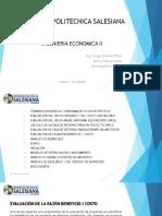Ingenieria Economica II Unidad 6