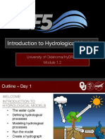 18. Introduction to Hydrological Models Mexico