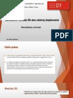 Markovič Martin - Zavedenie Metódy 5S Ako Nástroj Zlepšovania.