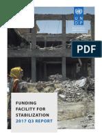 UNDP IQ- FFS Stabilization Q3 2017 Report-20171219