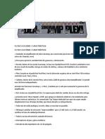 Fly Rig 5 Secciones y Características
