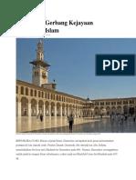 Damaskus, Gerbang Kejayaan Peradaban Islam