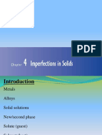 Imperfections in Solids-1