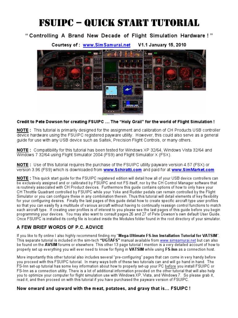 flight simulator 2004 windows 7