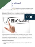 Qué es y cómo aplicar el benchmarking - CreceNegocios.pdf