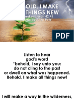 5. Behold, i Make All Things New Fin
