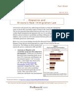 Hispanics and Arizona's Anti-Immigrant Law