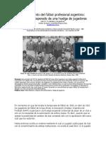 El Nacimiento Del Fútbol Profesional Argentino