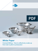 Conical Milling Scale Up White Paper