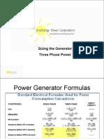 Generators ThreePhase