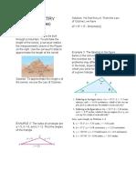 TRIGONOMETRY (Law of Cosines Sample Problem)