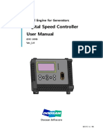 Doosan Digital Speed Control