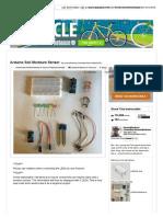 Arduino Soil Moisture Sensor