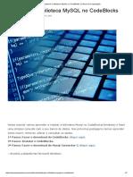 Instalando a biblioteca MySQL no CodeBlocks _ Ciência da Computação.pdf