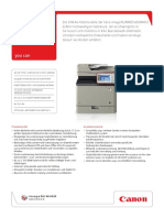 Canon IRADV C351iF C250i Datenblatt