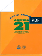 Agenda21 Earth Summit the United Nations Programme of Action From Rio