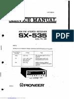 Pioneer sx535