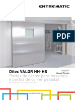 1F. PT - Ditec Valor HH-HS Manual Técnico