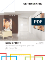 6. PT - Ditec Sprint Manual Técnico