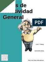 Notas de Relatividad General - Luis J. Garay