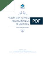 UAS Supervisi Pendidikan Dede Munandar