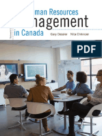 Human Resources Management in C  - Gary Dessler