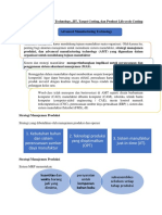 Advanced Manufacturing Technology, JIT, Target Costing, dan Product Life-cycle Costing