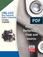 Ford 4cyl LRG 425 EFI Spec