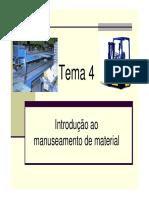 Introdução Ao Manuseamento de Material