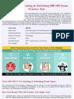 Cisco 200-105  Exam Questions - Free Demo