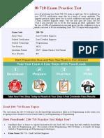 Programming 200-710  Practice Questions - PDF + Online Practice Test