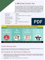 Networking 201-400  Practice Questions - PDF + Online Practice Test