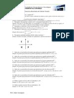 Exercícios Resolvidos - Cálculo Vetorial