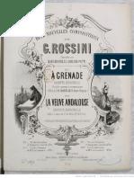 La Veuve Andalouse Chanson Espagnole -...-Rossini Gioachino