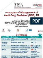 Principles of Management of MDR-TB