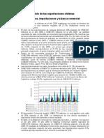 Análisis de las exportaciones chilenas(Resumen)