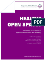 2010 - Impact of Open Spaces on Health & Wellbeing