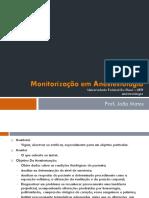 PDF - AULA - Monitorização e Líquidos em Anestesiologia