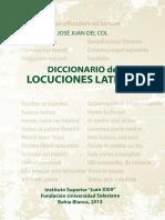 Diccionario de Locuciones Latinas - José Juan Del Col.pdf