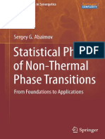 Abaimov S.G. - Statistical Physics of Non-Thermal Phase Transitions. From Foundations to Applications - (Springer Series in Synergetics) - 2015