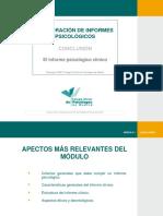 Informes Psicológicos Clinicos Generalidades