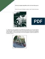 Método de Estacionamiento de Un Equipo Topográfico Sobre Un Terreno Llano Paso a Paso