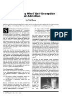 DEMARCACION SelfDeceptionandAddiction Levy
