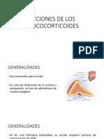 Acciones de Los Glucocorticoides