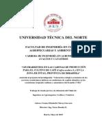 Geomarketing en Las Cadenas de Producción Para El Cultivo de Cafe - Tesis Licenciatura
