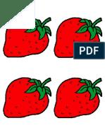 Frutas Para Coloear Para Niños