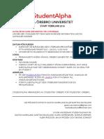 StudentAlphan Sidan Information