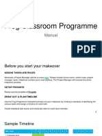 Frog Classroom Manual